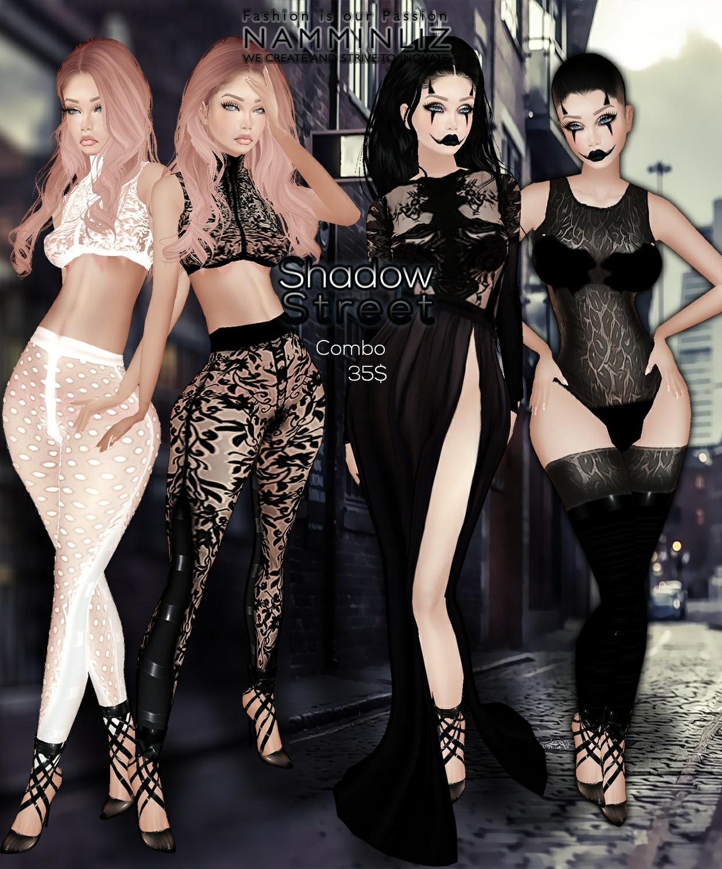 Shadow Street •Bibirasta Outfit+ Leggings