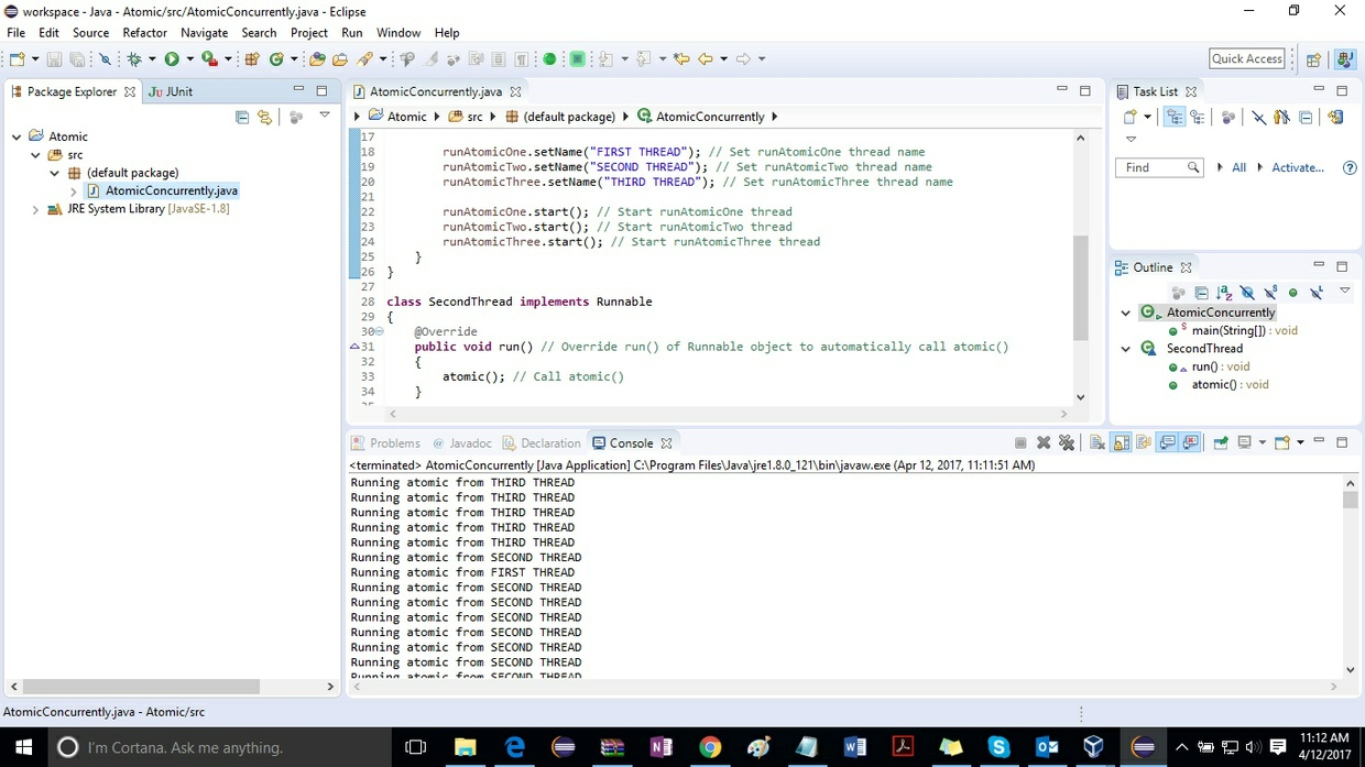 Concurrent Programming Solution