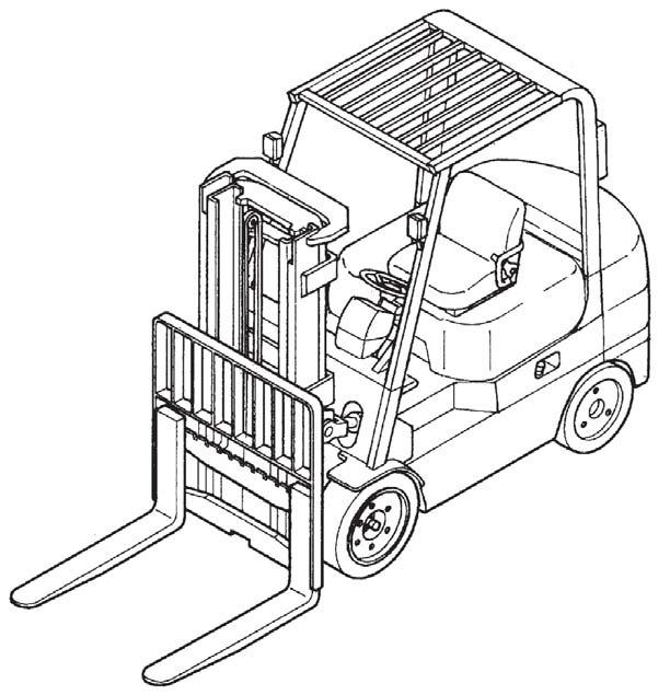 Caterpillar Cat GC20N - GC33N lift Trucks Service Repair Manual Download