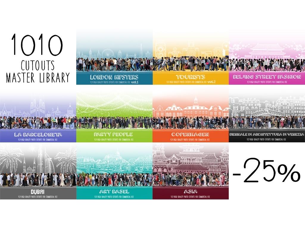 1010 CUTOUTS Master Library ( all 10 volumes )