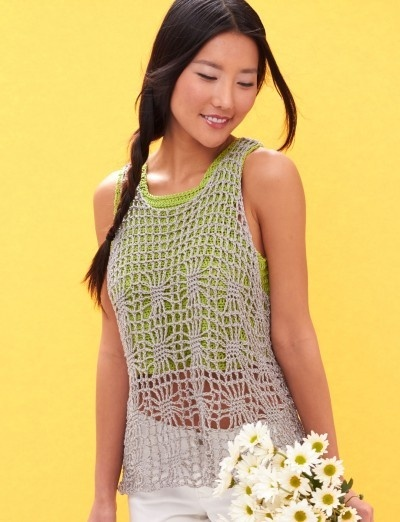 Crochet Light Layer Tank
