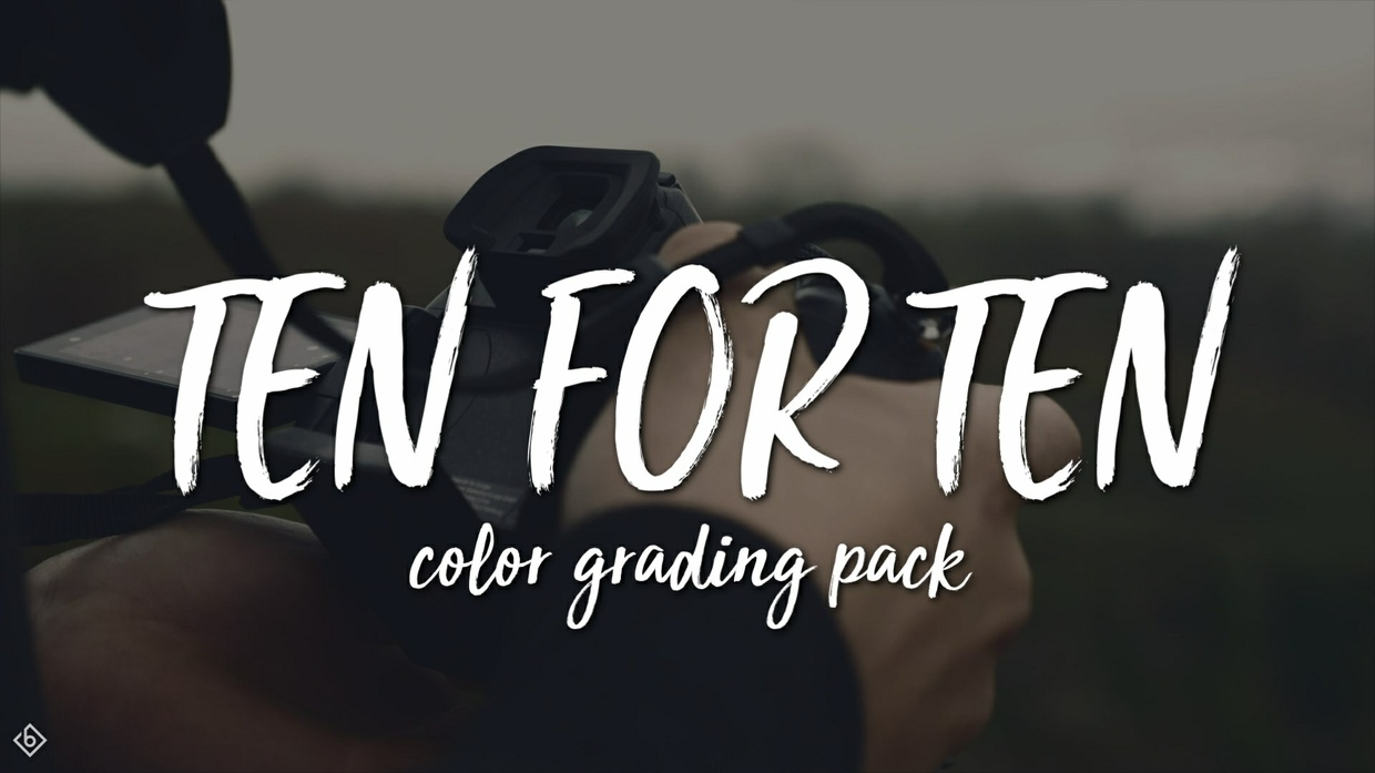 Sony Vegas 10 FOR 10 COLOR GRADING PACK by theletterisb