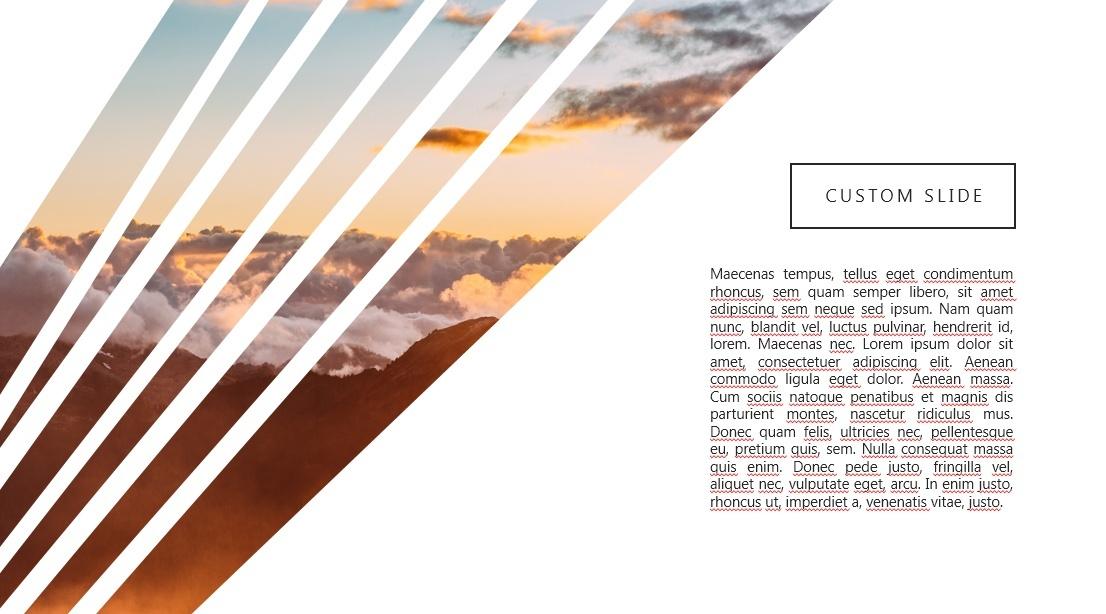 Grove PowerPoint Presentation Template