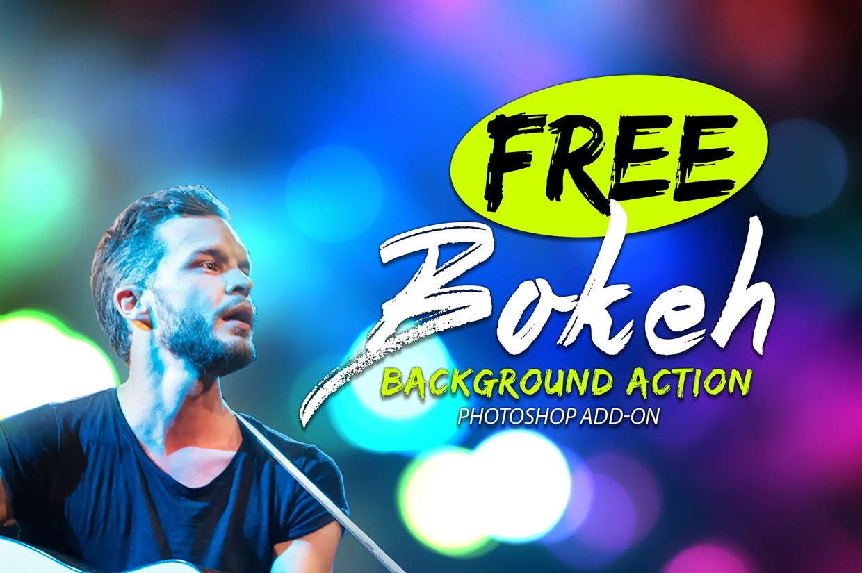 Free 13 Bokeh Photoshop Action