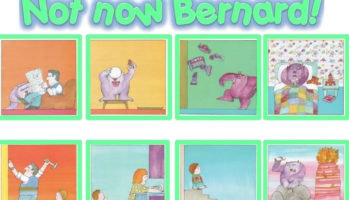 NOT NOW BERNARD - 4 ACTIVITIES