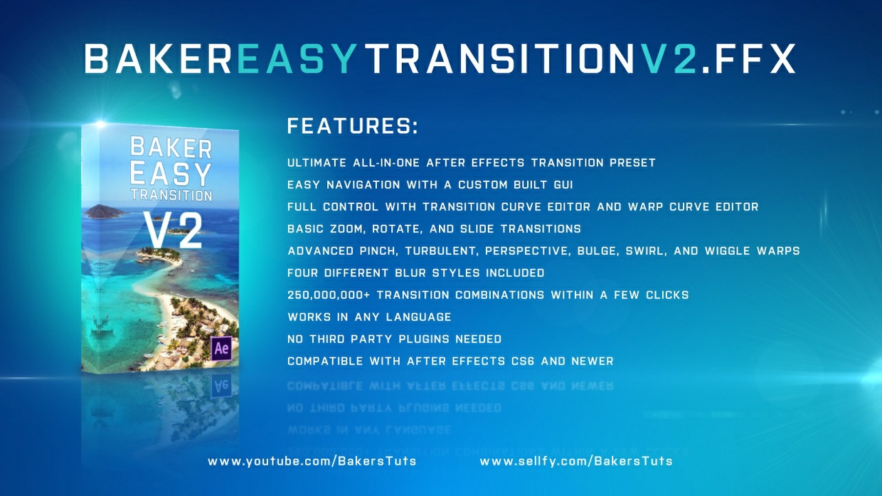 Baker Easy Transition V2 Preset Bundle