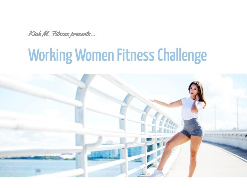 Working Women Fitness Challenge Pre-Order