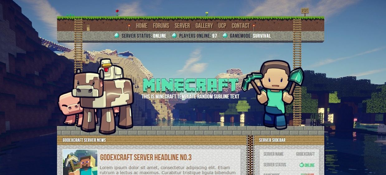 Minecraft Template V3 - Discount! - Art Shops - Shops and Requests ...