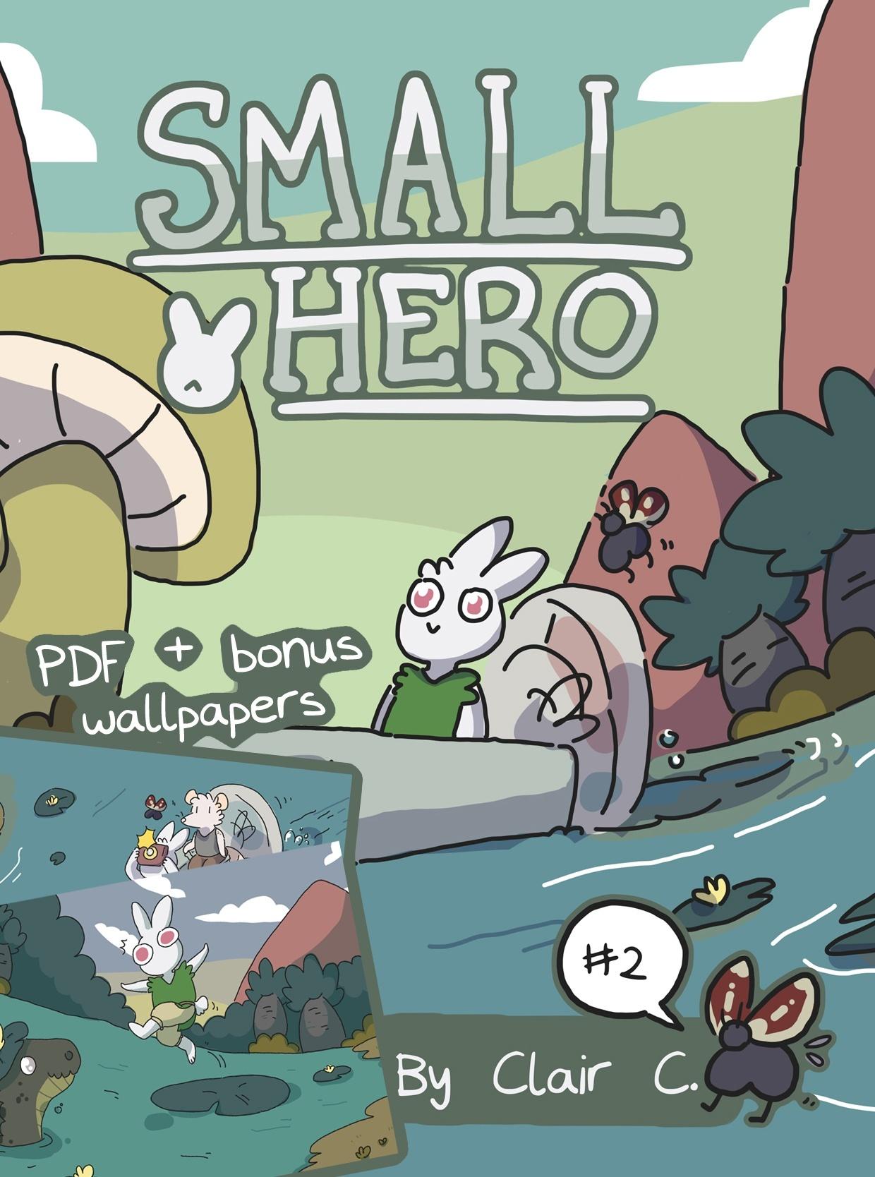 Small Hero #2 PDF & Wallpaper Bundle