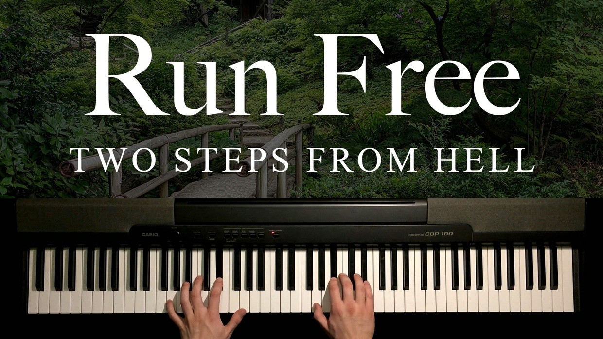 Run Free Piano Sheet Music (Two Steps From Hell)