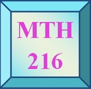 MTH 216 Customized Service For Weekly StudyPlan And Checkpoint (Weekly Price)