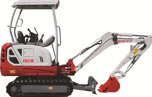Takeuchi TB216 WFTB216_F-XB Mini Excavator Service Repair Workshop Manual (S/N:216100002 & Above)