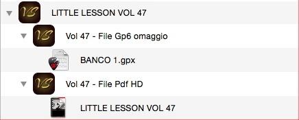 LITTLE LESSON VOL 47 - Format Pdf (in omaggio file Gp6)