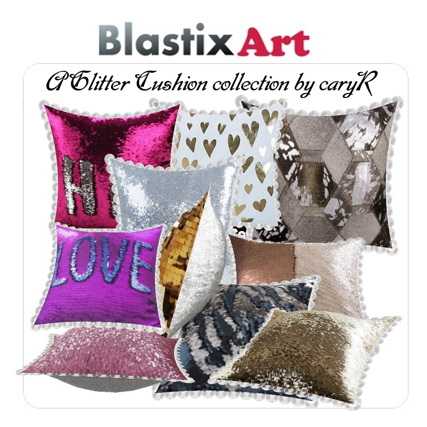 A Glitter Cushion collection by caryR