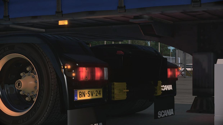 Scania RJL normal rearbumper slots