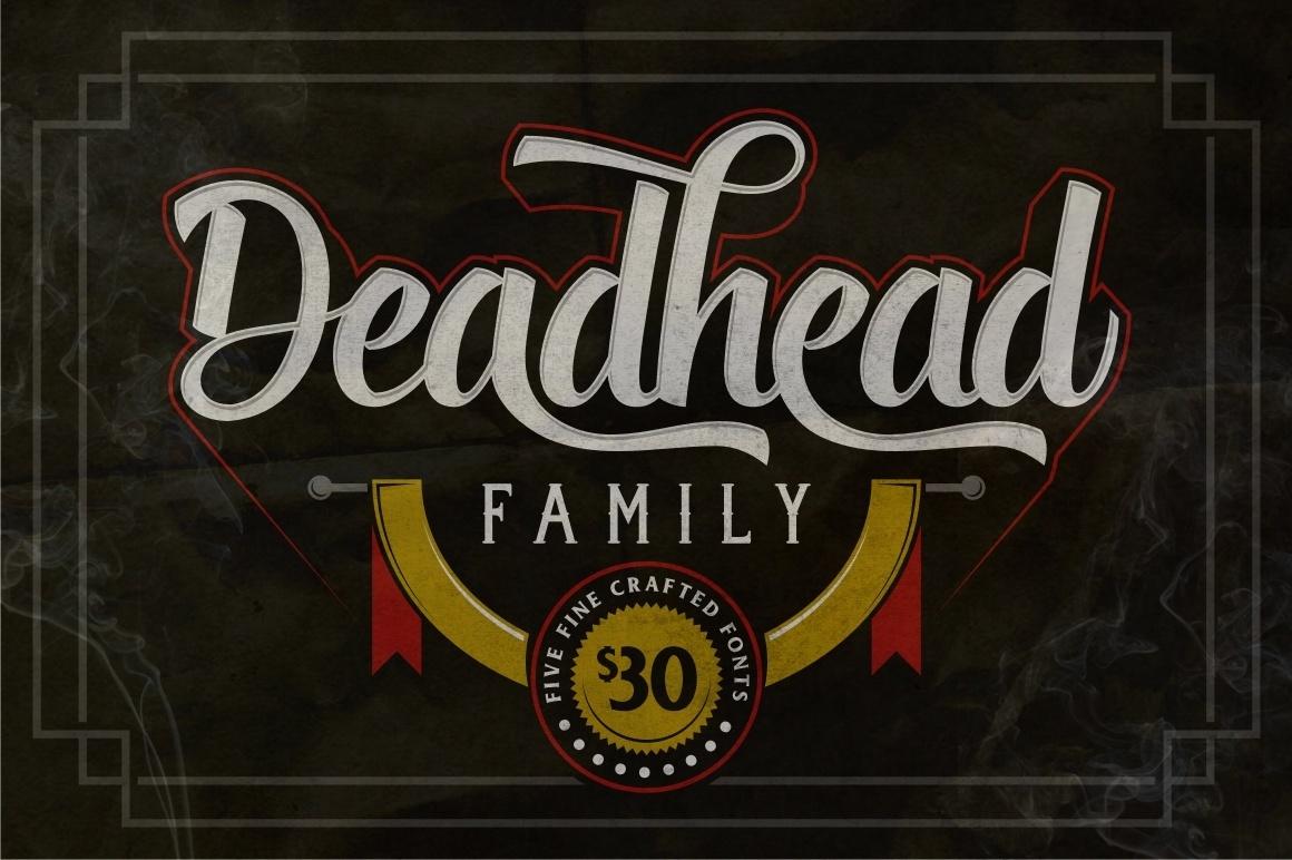 Deadhead Typeface Family