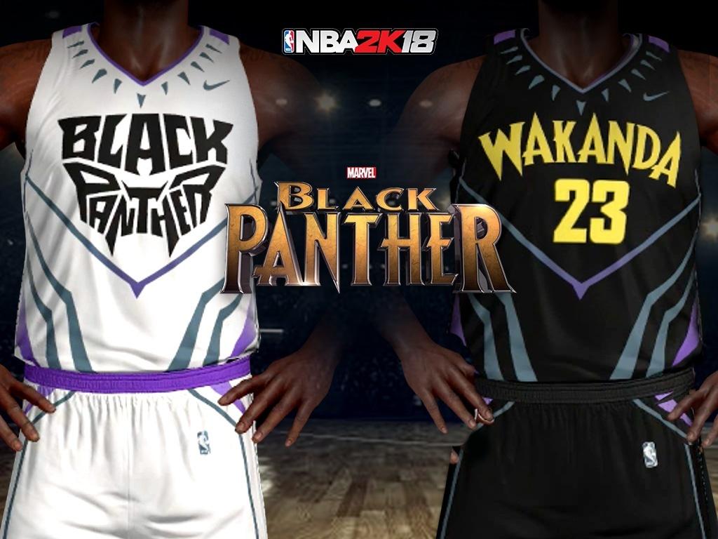 Marvel Black Panther Wakanda Team Jersey & Arena