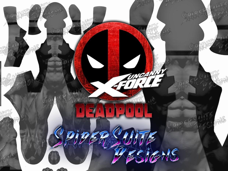 Classic Comic X Force Deadpool 2017 Pattern