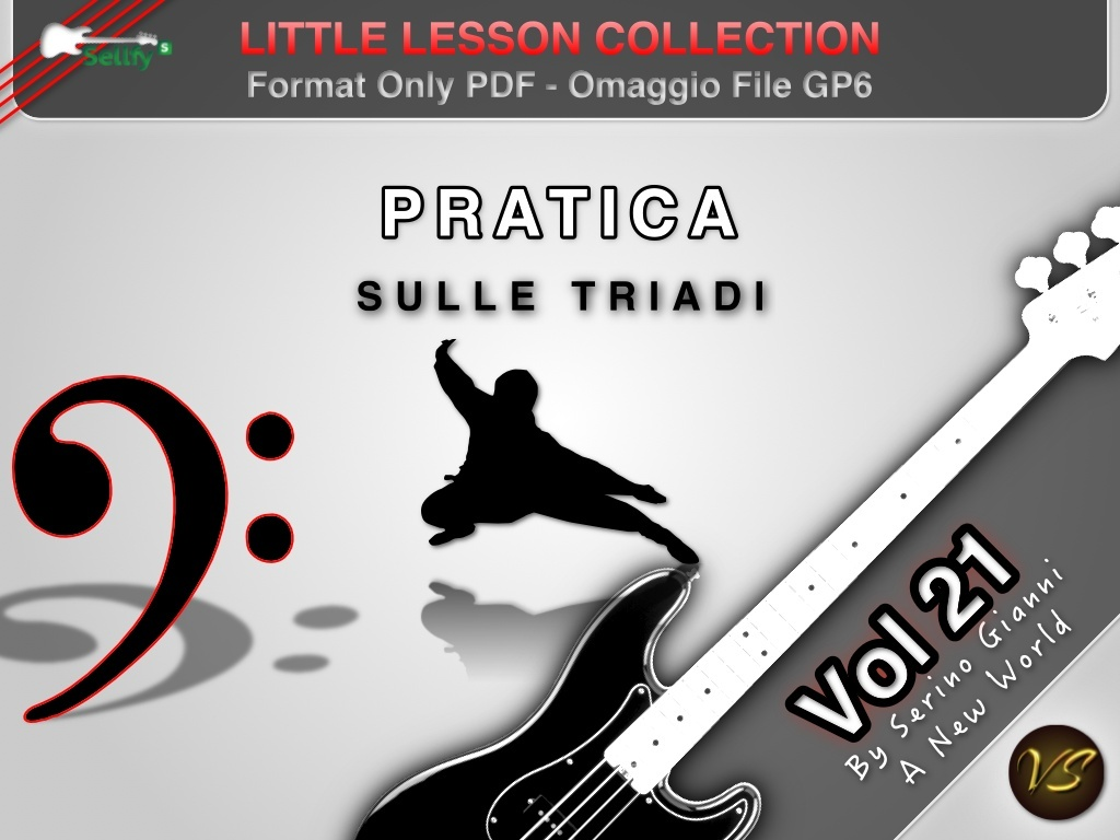 LITTLE LESSON VOL 21 - Format Pdf (in omaggio file Gp6)