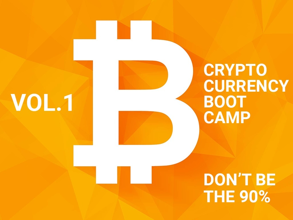 CryptoBootCamp Vol.1 - Don't be the 90% - Part 1.5 / 1.5