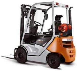 Still LPG Forklift Truck RC40-16, RC40-18, RC40-20: 4044, 4045, 4046 Operating Instructions