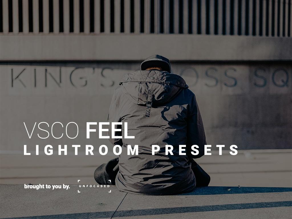 VSCO FEEL - Lightroom presets