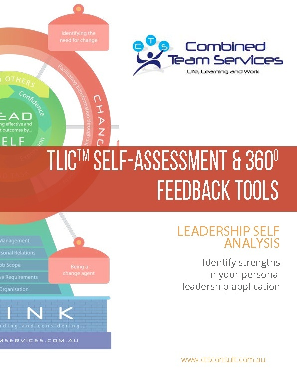 TLIC Self-Assessment and 360 Feedback Tools