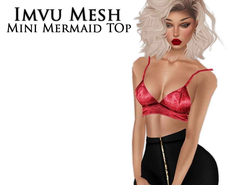 IMVU Mesh - Tops - Mini Mermaid Top