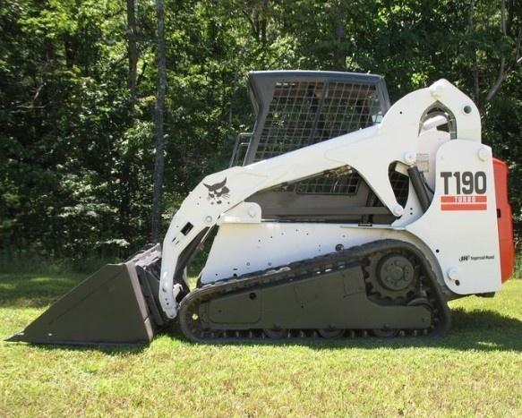 Bobcat T190 Compact Track Loader Service Repair Manual DOWNLOAD (S/N 531611001 - 531659999...   )