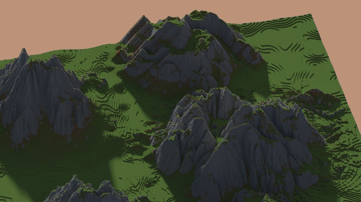 Epic Mountain Brush Pack - For ZBrush, Mudbox, or WorldPainter.