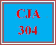 CJA 304 Week 2 Report Writing Activity