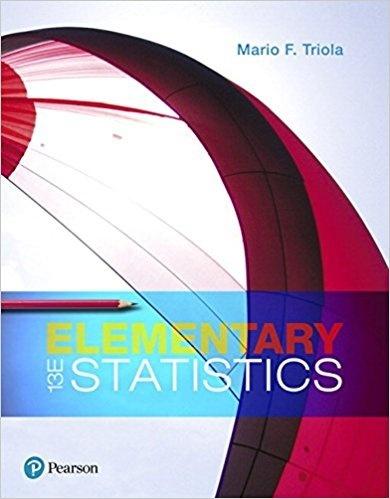 Elementary Statistics (13th Edition) ( PDF )