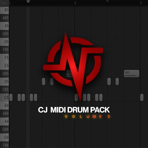 CJ's MIDI Drum Pack : Volume 3 (Instant Digital Download)