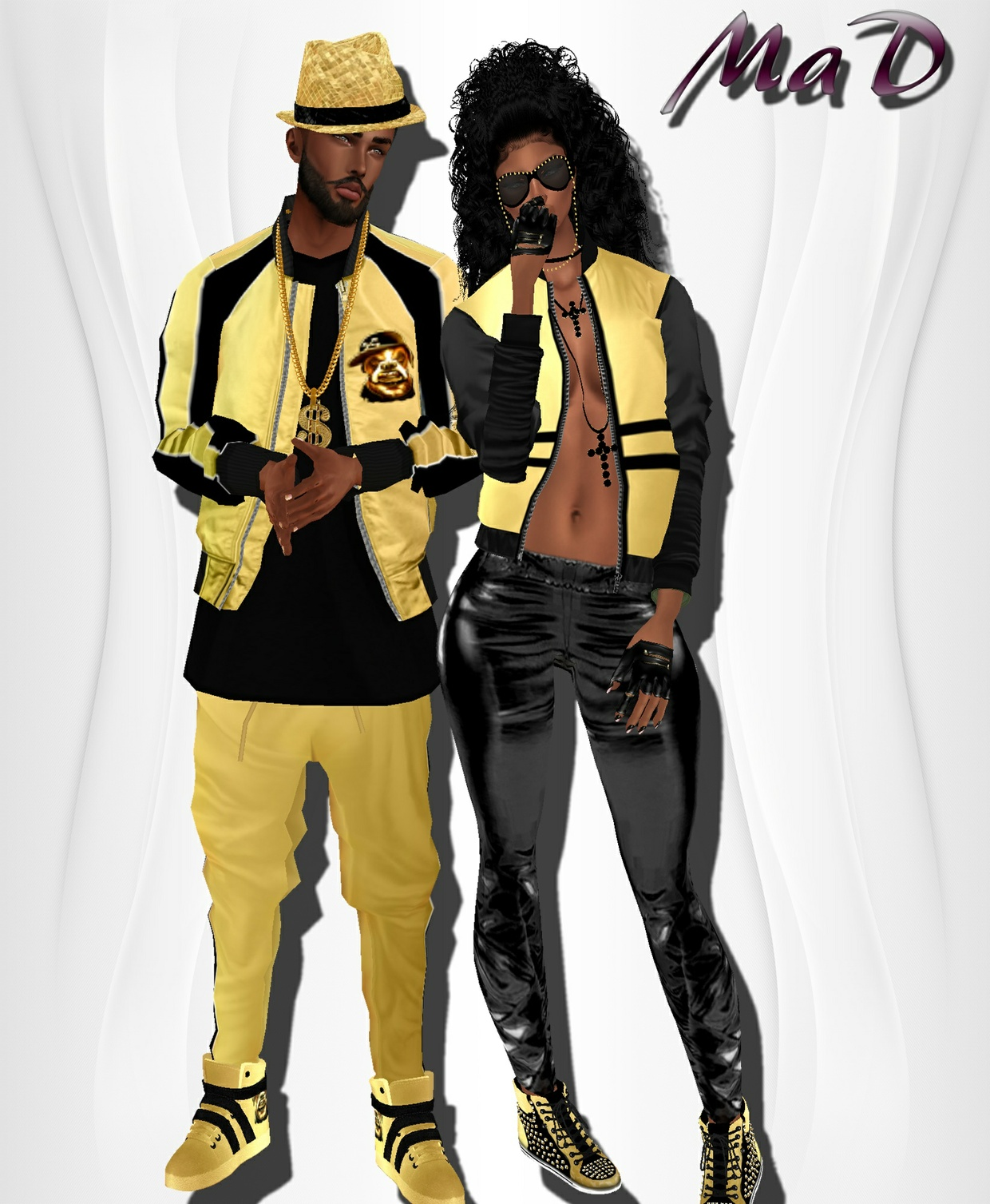MaD Set v2 Male -Female WITH RESELL RIGHTS (rapper)