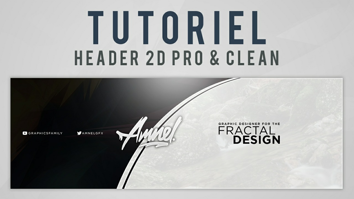 [Free template] 2D Pro & Clean Header (banner)