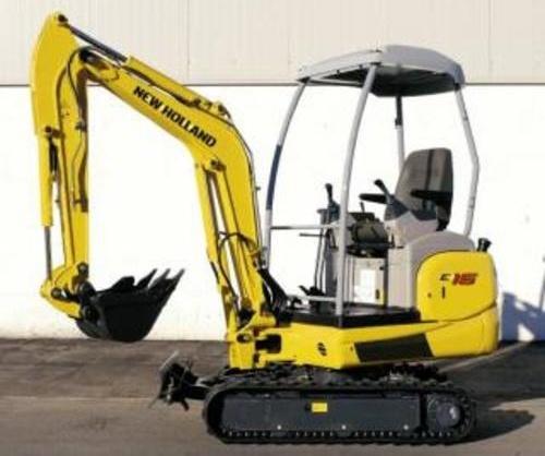 New Holland E16 E18 Mini Crawler Excavators Service Repair Workshop Manual Download