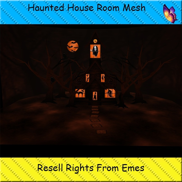 Haunted House Room Mesh Catty Only!!!