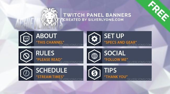 OW Achievement Twitch Panels