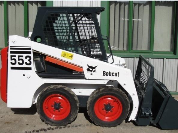 Bobcat 553 Skid Steer Loader Service Repair Manual DOWNLOAD ( S/N 513011001 , 513031001 & Above )