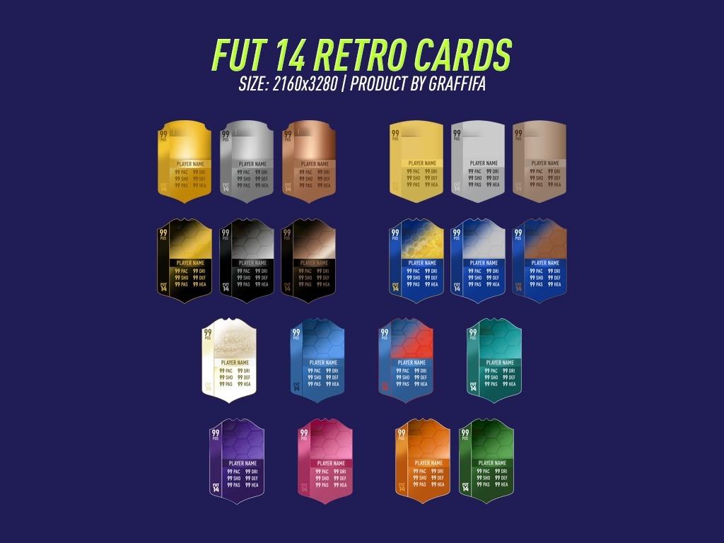 FUT 14 RETRO CARDS