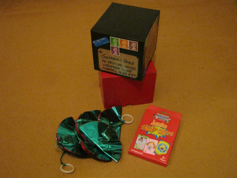 THE GOZINTA BOXES & THE PSYCHOLOGY OF MAGIC
