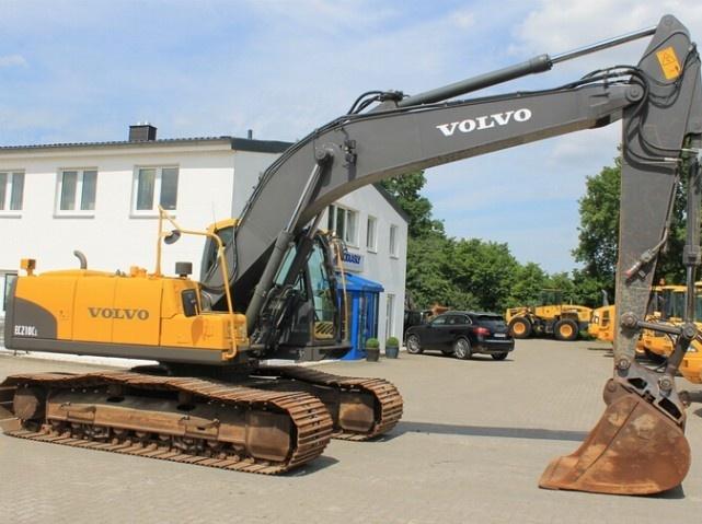 VOLVO EC210 F EC210F EXCAVATOR SERVICE REPAIR MANUAL - DOWNLOAD