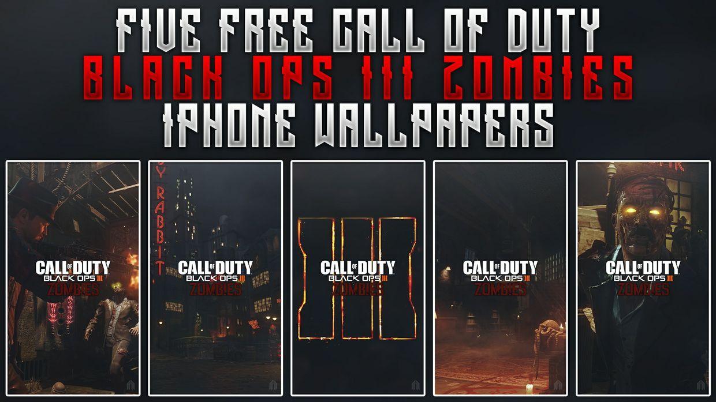 black ops iii zombies iphone wallpaper pack