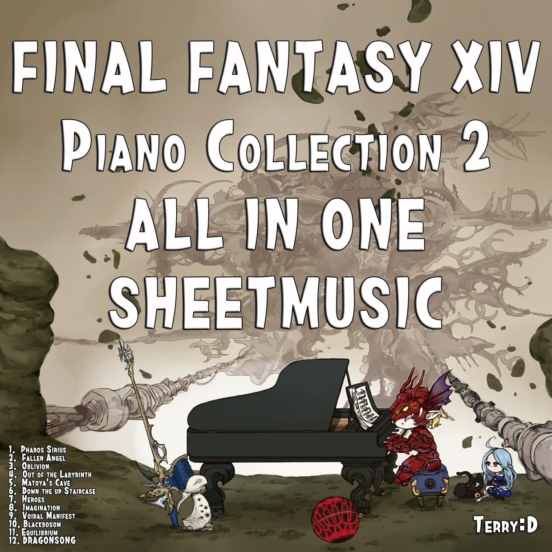 Piano Fantasy - Final Fantasy XIV Piano Collection Vol. 2 (Arr. by Terry:D)