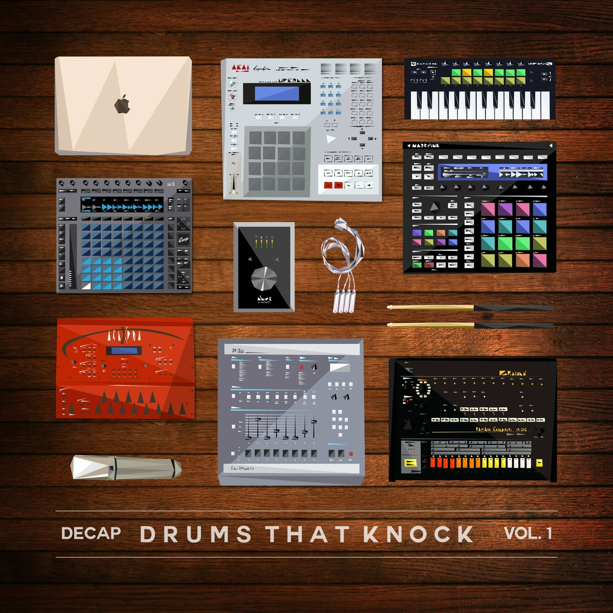 Drums That Knock Vol. 1 & Vol. 2 (Limited Edition Bundle)