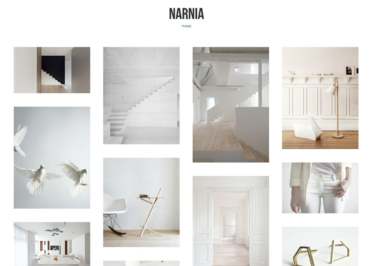 Narnia - Highly Customisable Tumblr theme