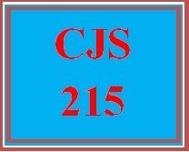 CJS 215 Week 1 Forensic Science History Paper