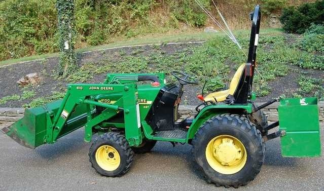 TM1630 John Deere 4100 Compact Utility Tractors Workshop Service Technical Pdf