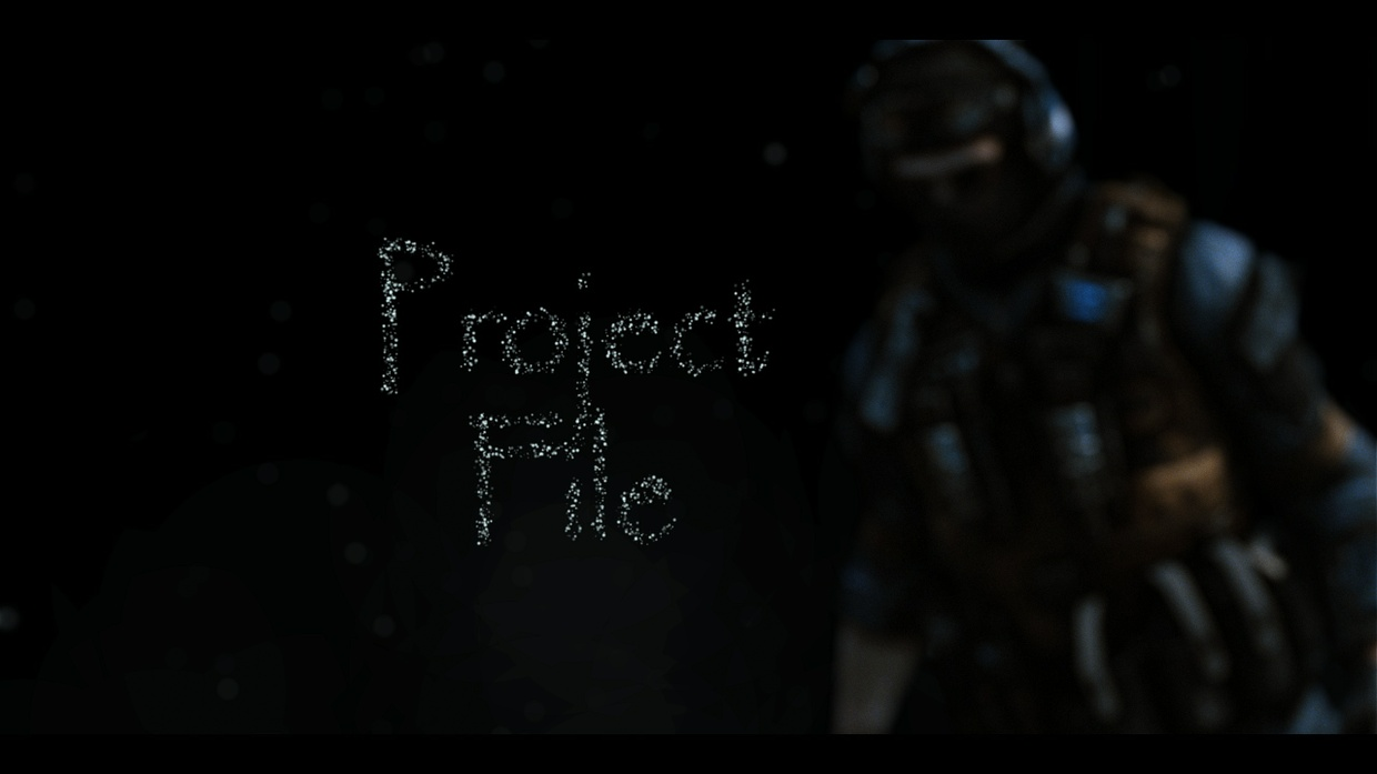 Lost Singularity. Project File