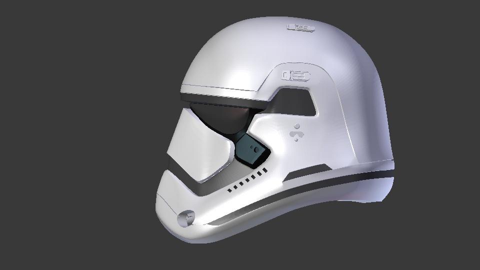Star Wars TFA Stormtrooper Helmet Episode 7